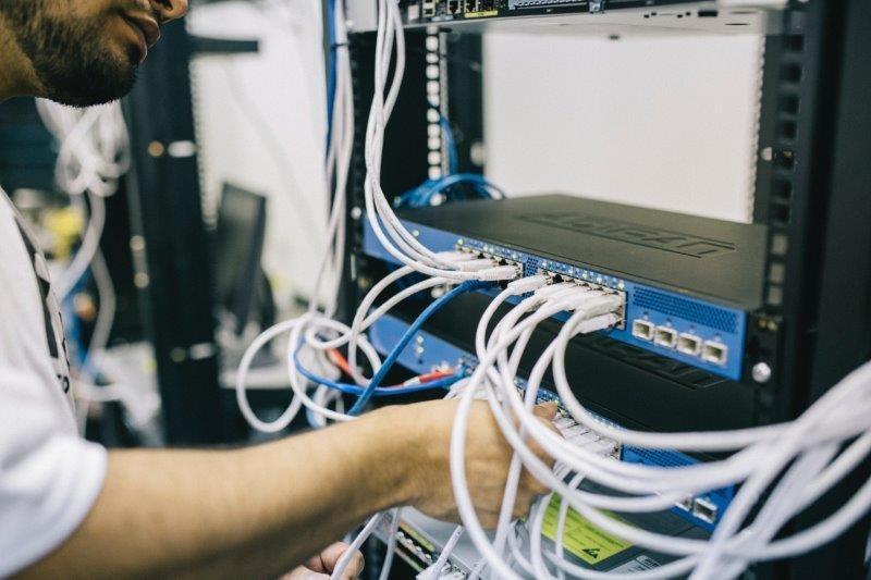 Implantação de infraestrutura de rede